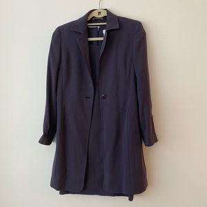 MaxMara Dress Suit Jacket Purple Sz 4